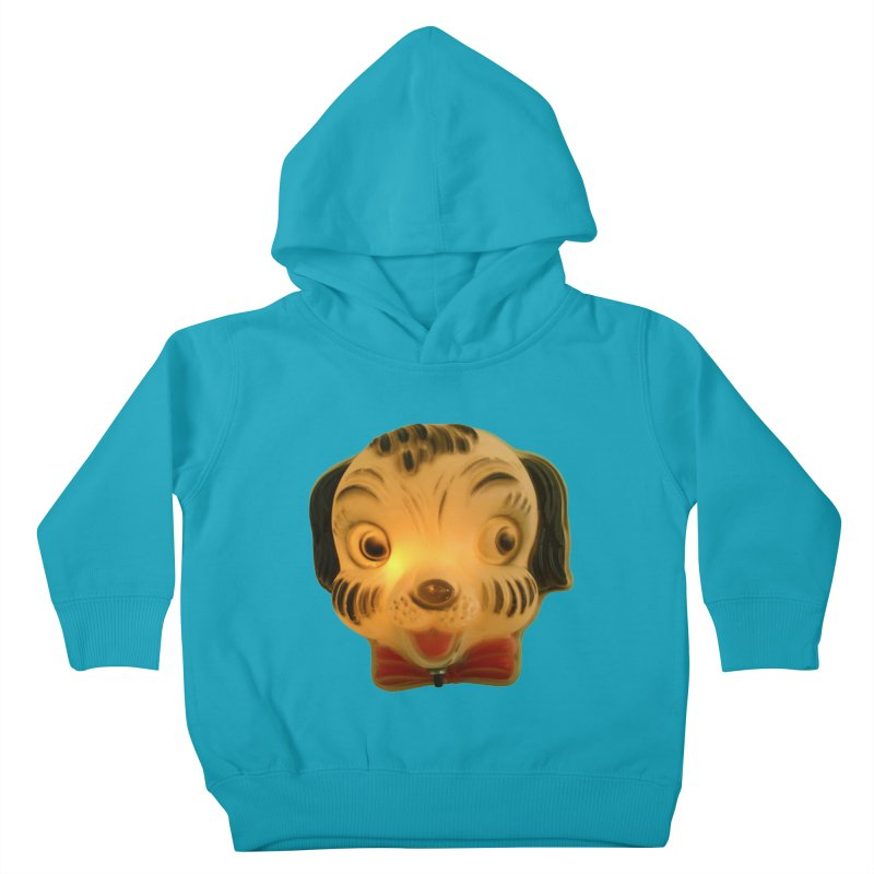 Puppy Head Kids Toddler Pullover Hoody by Dave Calver's Shop