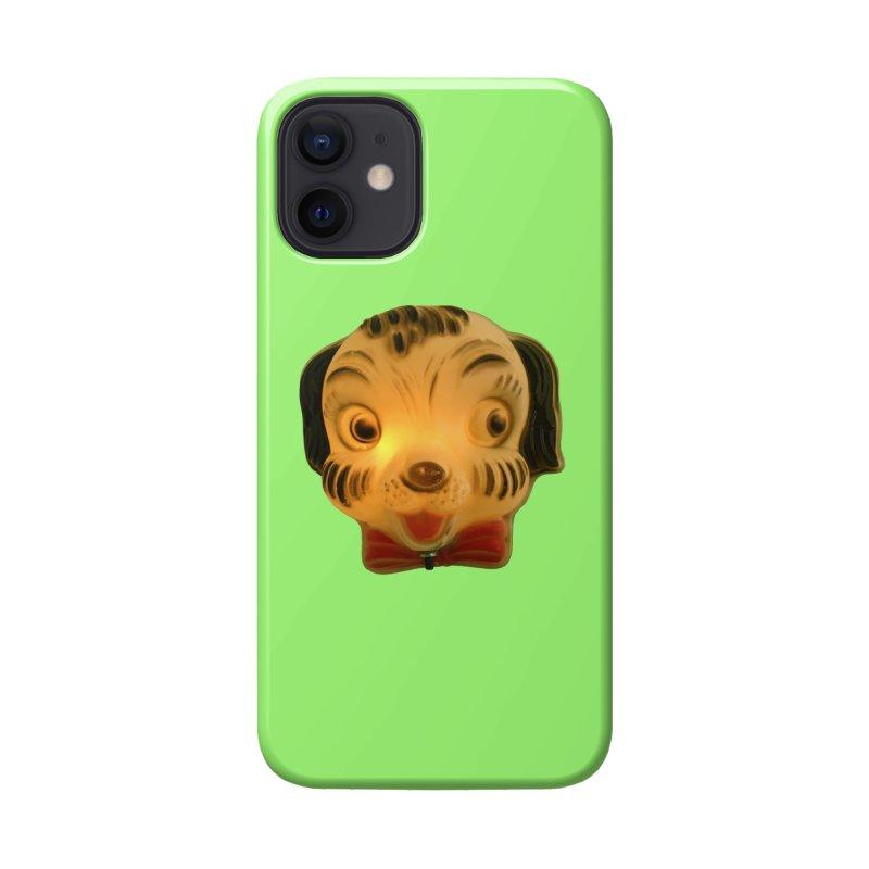 Puppy Head Accessories Phone Case by Dave Calver's Shop