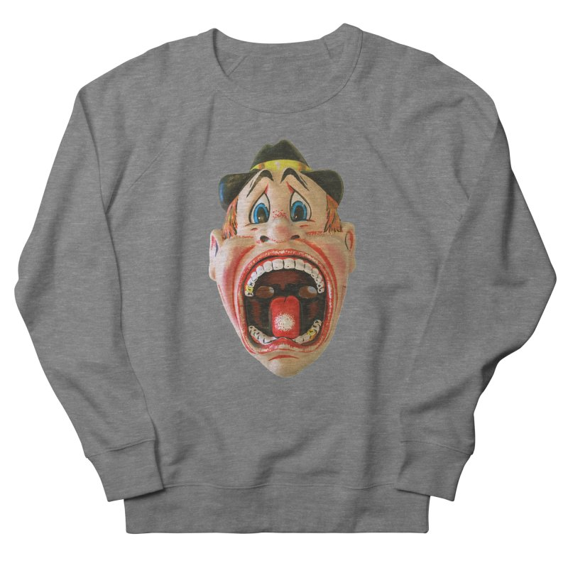 Screamer Men's French Terry Sweatshirt by Dave Calver's Shop