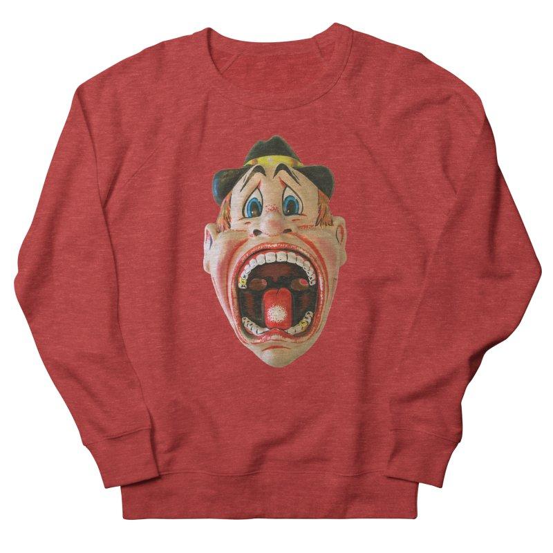 Screamer Men's French Terry Sweatshirt by Dave Calver's Shop