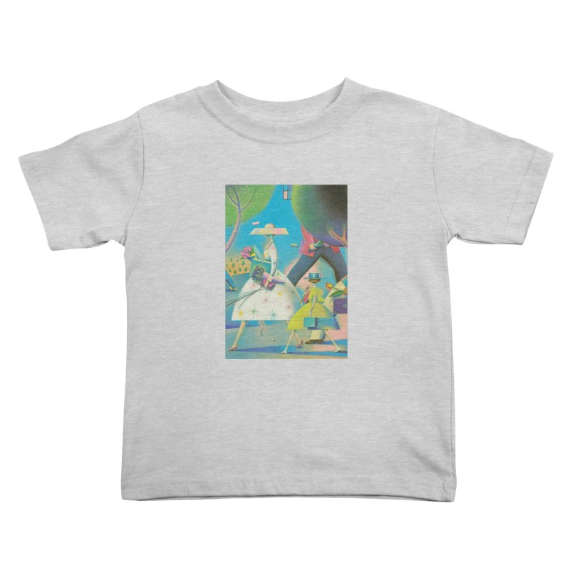 Mother And Daughter Kids Toddler T-Shirt by Dave Calver's Shop