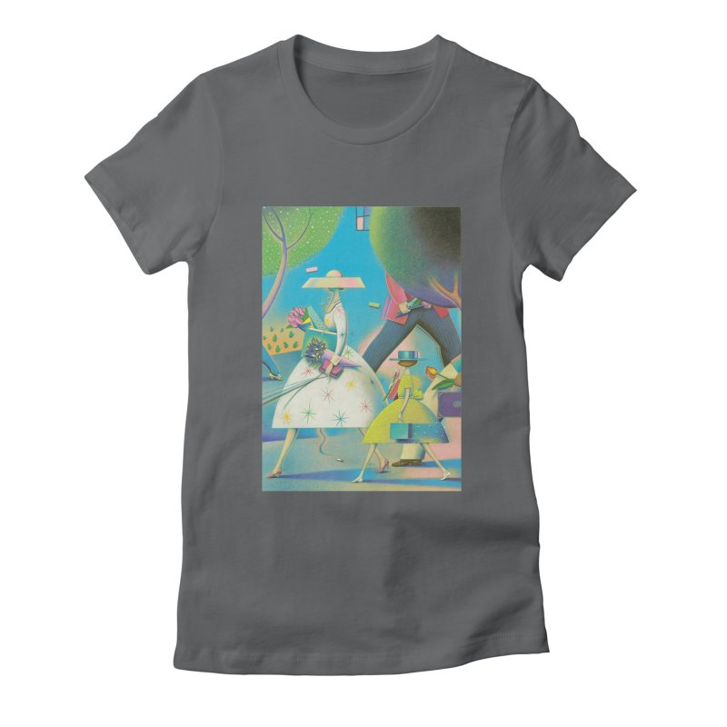 Mother And Daughter Women's Fitted T-Shirt by Dave Calver's Shop