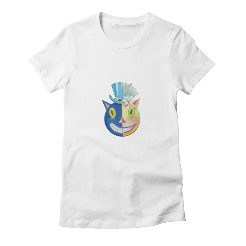 Merger Women's Fitted T-Shirt by Dave Calver's Shop