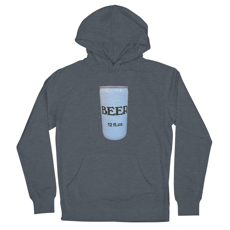 Generic Beer Men's French Terry Pullover Hoody by Dave Calver's Shop