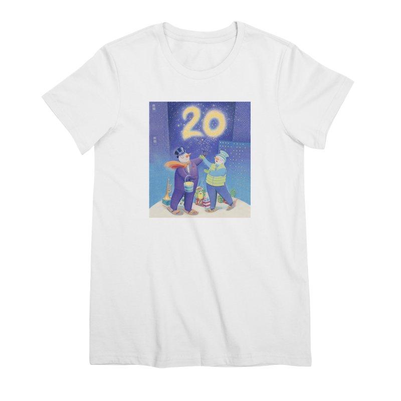 Winters Eve 20 Women's Premium T-Shirt by Dave Calver's Shop
