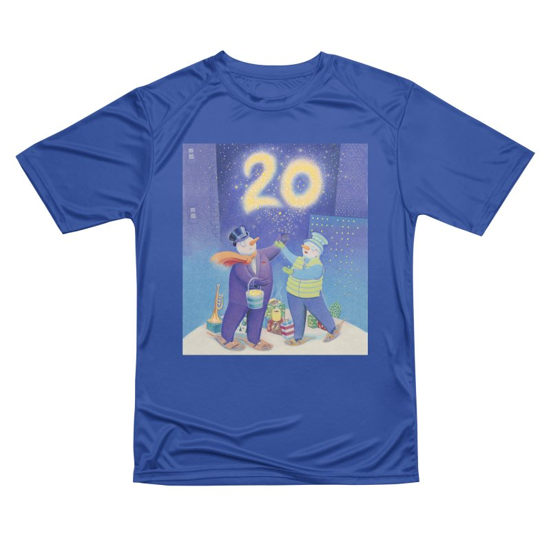 Winters Eve 20 Men's Performance T-Shirt by Dave Calver's Shop
