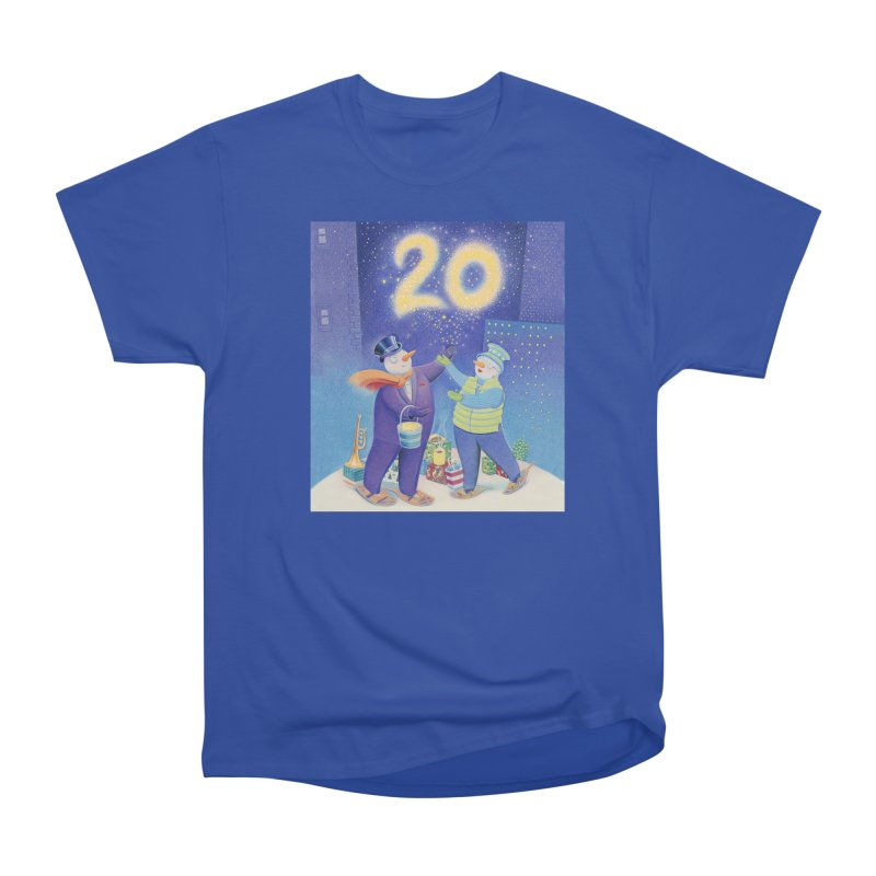 Winters Eve 20 Men's Heavyweight T-Shirt by Dave Calver's Shop