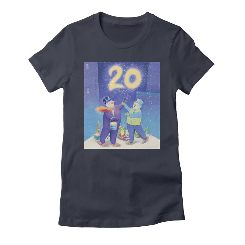 Winters Eve 20 Women's Fitted T-Shirt by Dave Calver's Shop