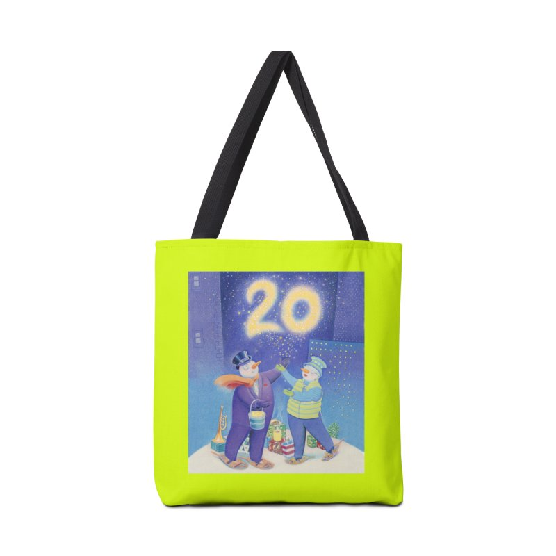 Winters Eve 20 Accessories Tote Bag Bag by Dave Calver's Shop