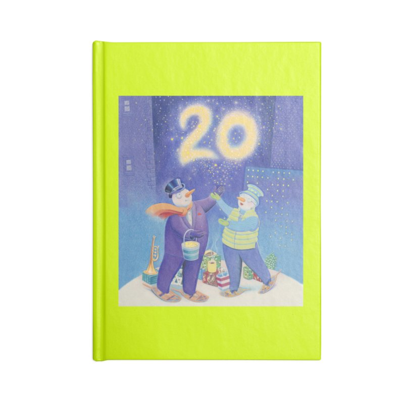 Winters Eve 20 Accessories Lined Journal Notebook by Dave Calver's Shop