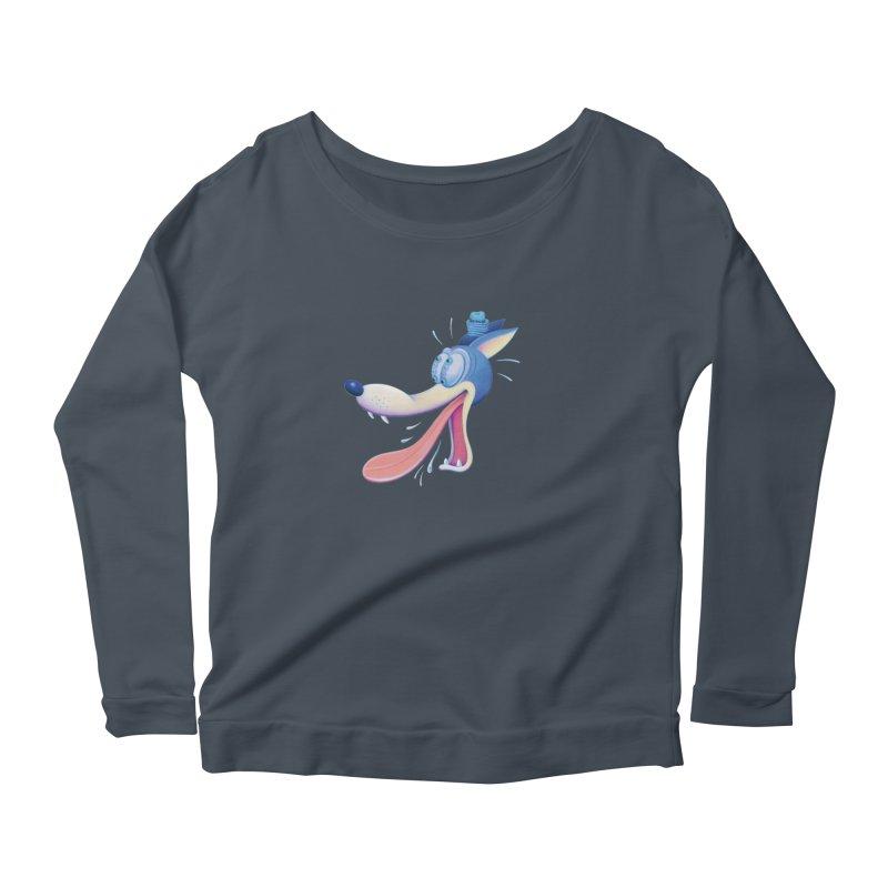 Wolf Women's Longsleeve T-Shirt by Dave Calver's Shop