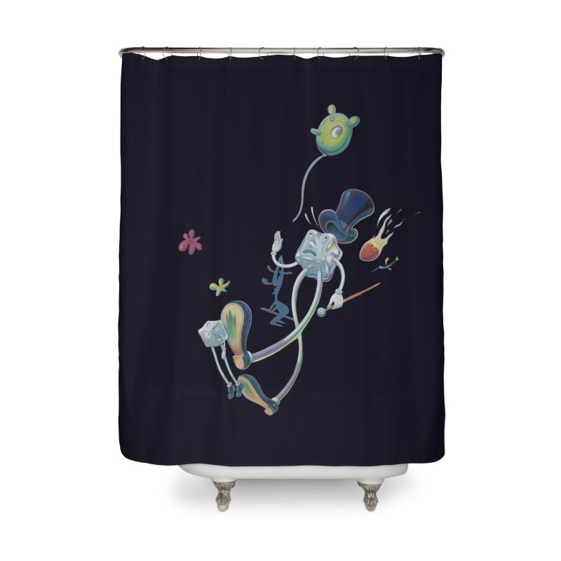 Underfoot Home Shower Curtain by Dave Calver's Shop