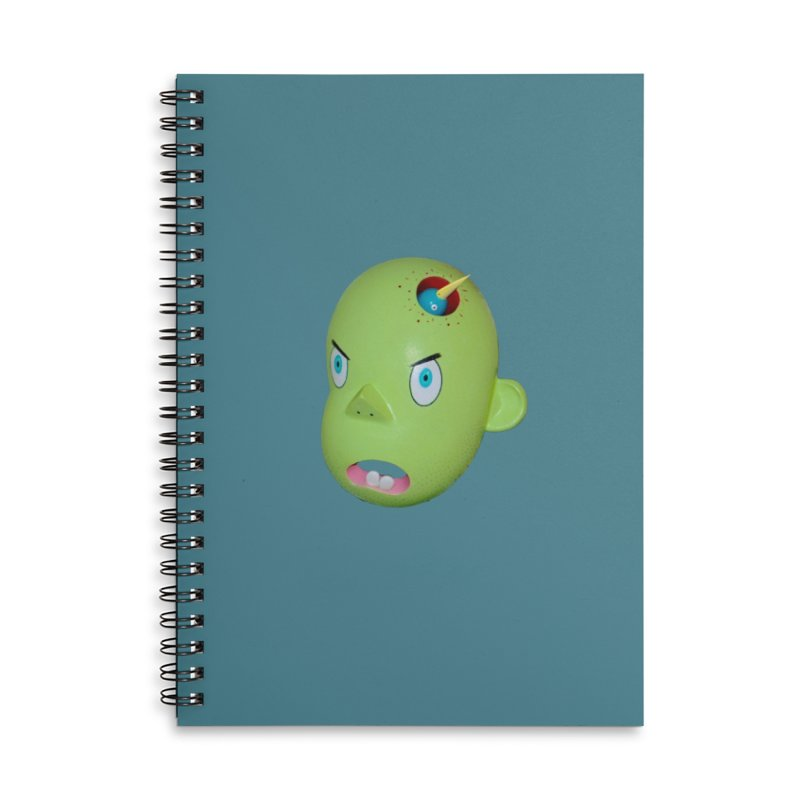 Nest Head Accessories Notebook by Dave Calver's Shop