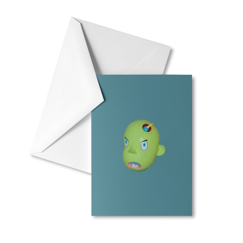 Nest Head Accessories Greeting Card by Dave Calver's Shop