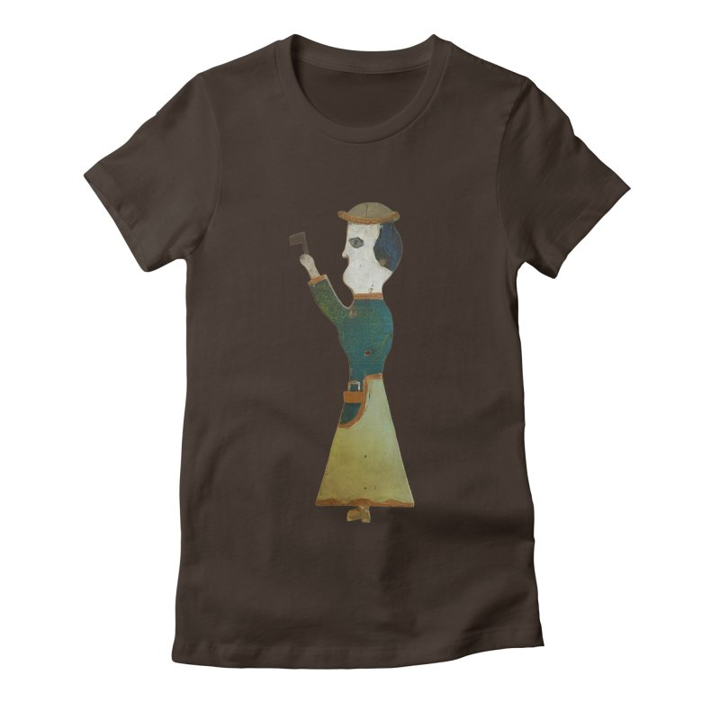 Lizzie Borden Whirligig Women's Fitted T-Shirt by Dave Calver's Shop