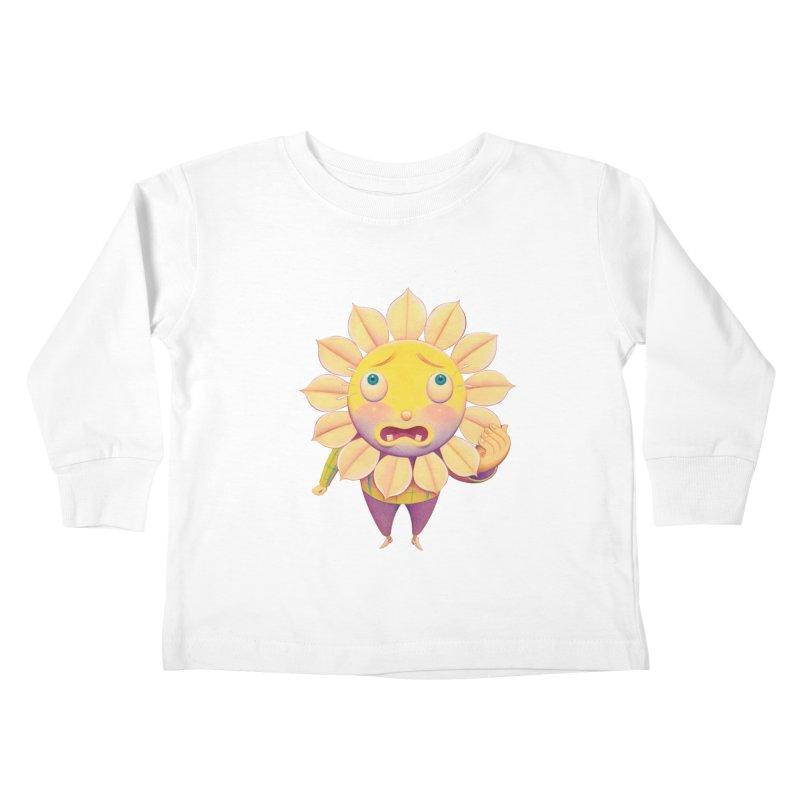 Lou Kids Toddler Longsleeve T-Shirt by Dave Calver's Shop