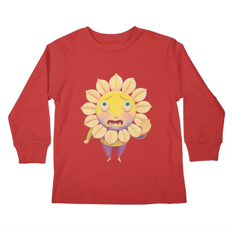 Lou Kids Longsleeve T-Shirt by Dave Calver's Shop