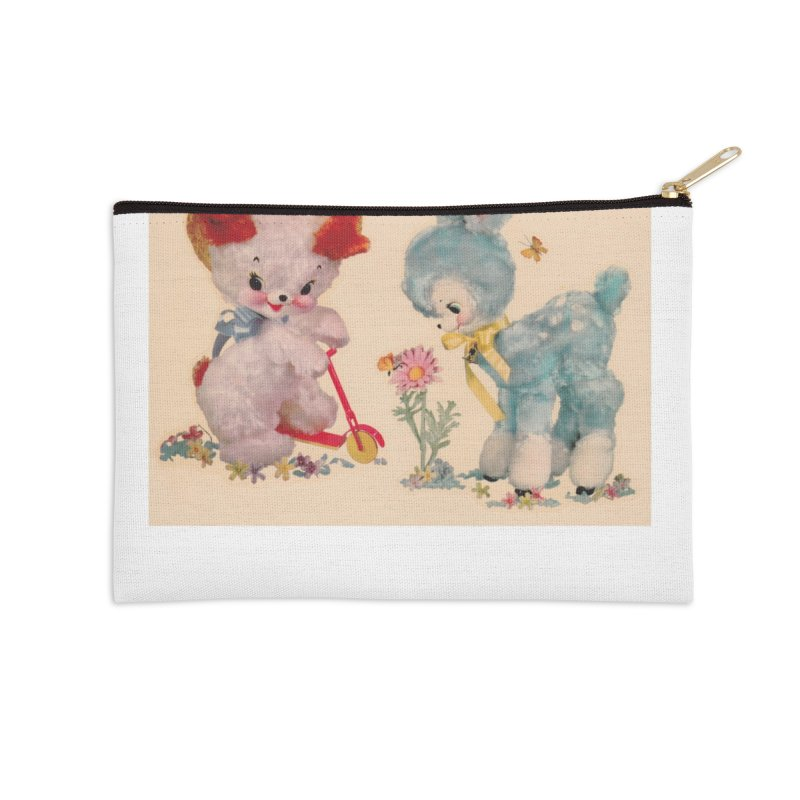 Fluffies Accessories Zip Pouch by Dave Calver's Shop