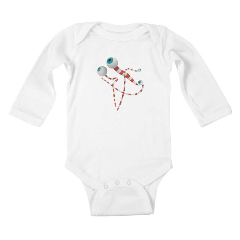 Worms Kids Baby Longsleeve Bodysuit by Dave Calver's Shop