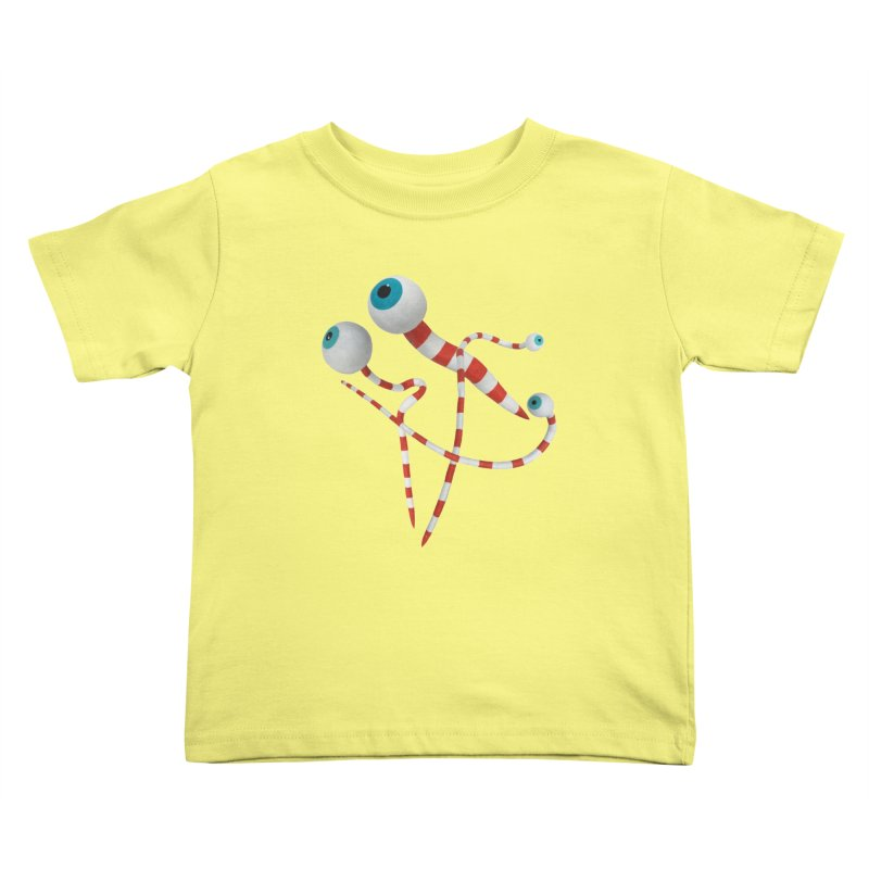Worms Kids Toddler T-Shirt by Dave Calver's Shop