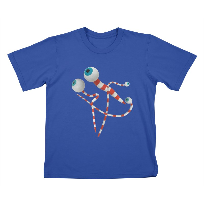 Worms Kids T-Shirt by Dave Calver's Shop