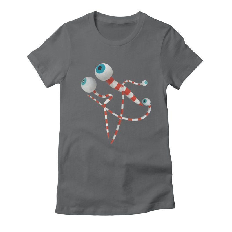 Worms Women's Fitted T-Shirt by Dave Calver's Shop
