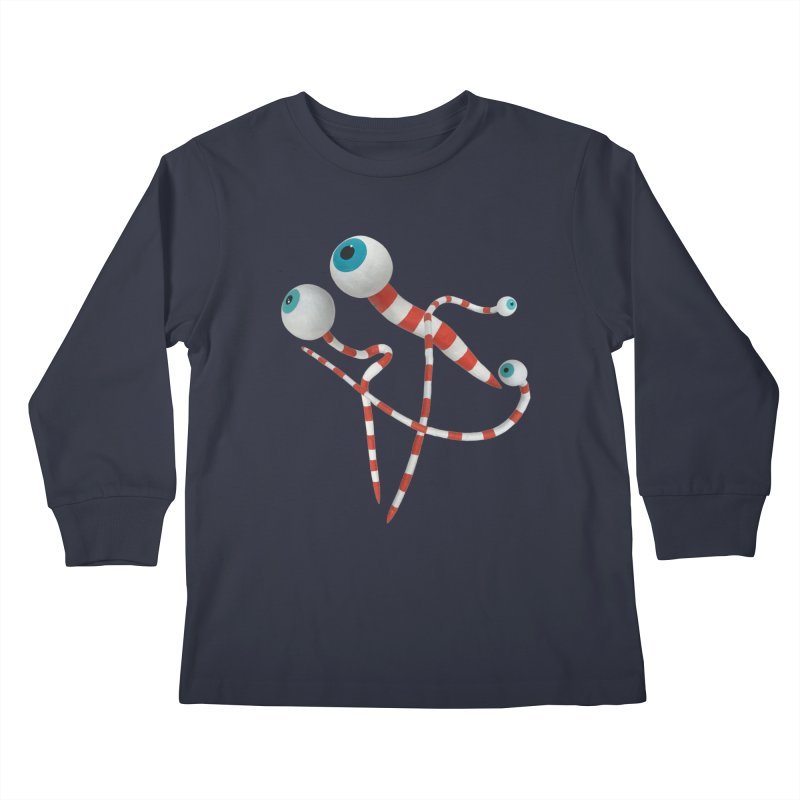 Worms Kids Longsleeve T-Shirt by Dave Calver's Shop