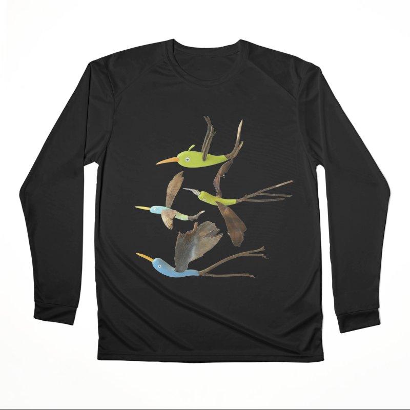 Birds From Hell Men's Longsleeve T-Shirt by Dave Calver's Shop