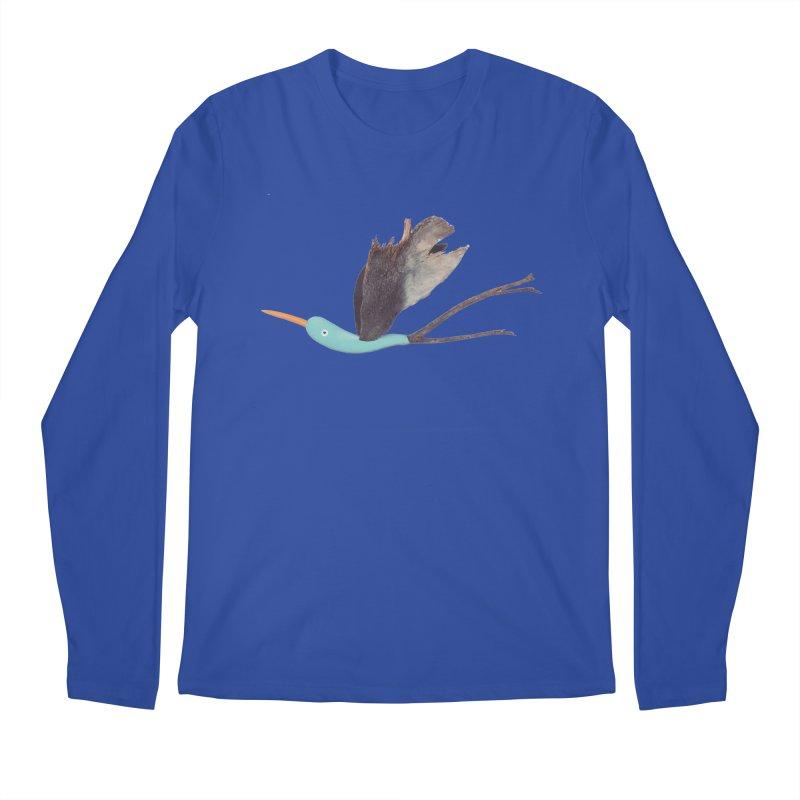 Bird 1 Men's Regular Longsleeve T-Shirt by Dave Calver's Shop