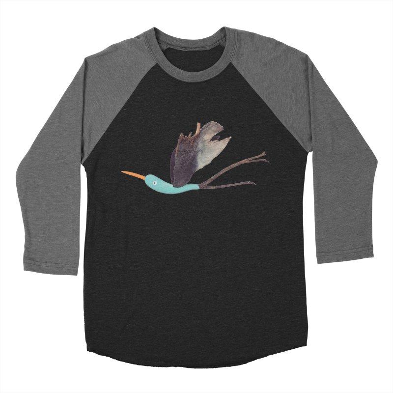 Bird 1 Women's Baseball Triblend Longsleeve T-Shirt by Dave Calver's Shop