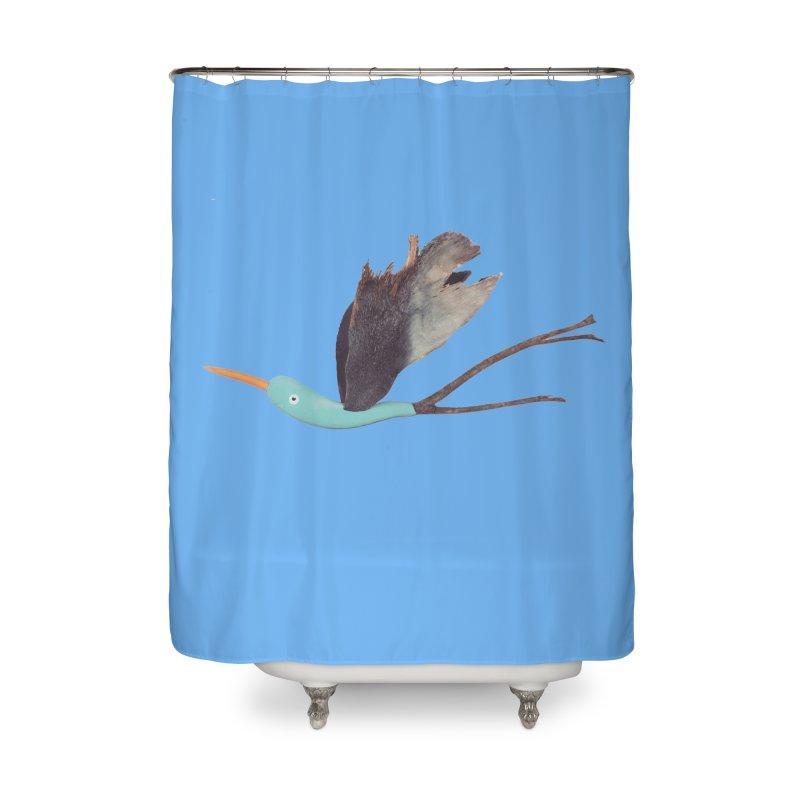 Bird 1 Home Shower Curtain by Dave Calver's Shop
