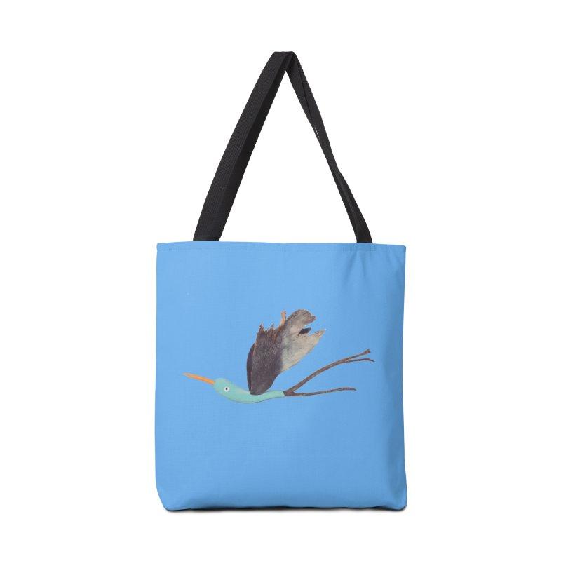 Bird 1 Accessories Tote Bag Bag by Dave Calver's Shop