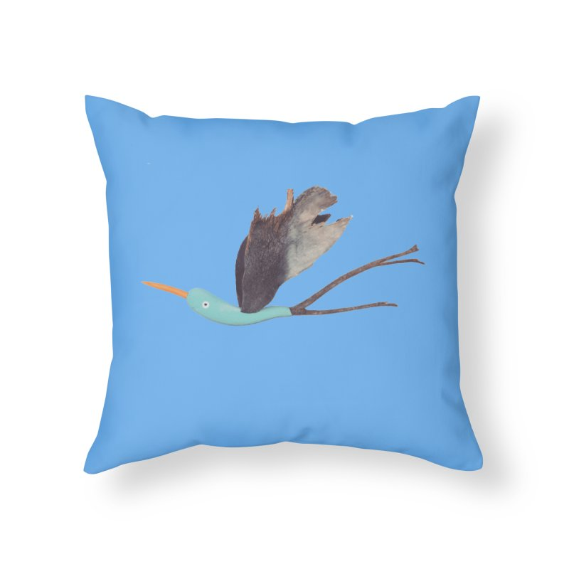 Bird 1 Home Throw Pillow by Dave Calver's Shop