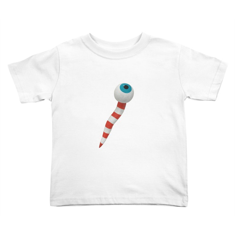 Worm 1 Kids Toddler T-Shirt by Dave Calver's Shop