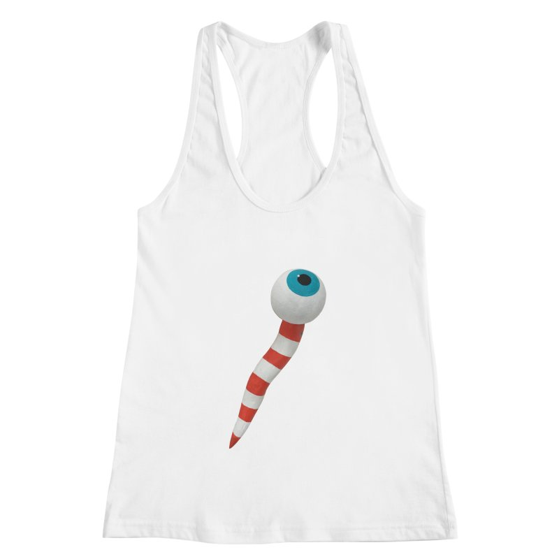 Worm 1 Women's Racerback Tank by Dave Calver's Shop