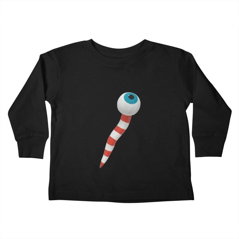 Worm 1 Kids Toddler Longsleeve T-Shirt by Dave Calver's Shop
