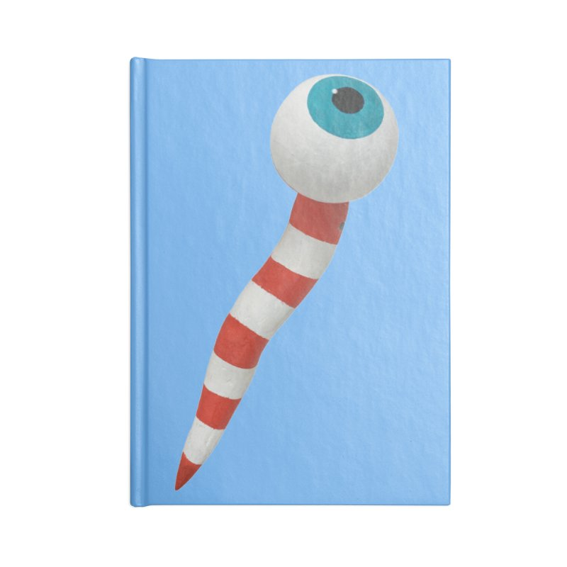 Worm 1 Accessories Blank Journal Notebook by Dave Calver's Shop
