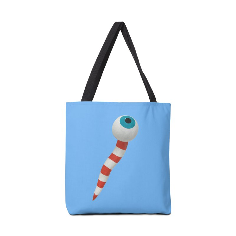 Worm 1 Accessories Tote Bag Bag by Dave Calver's Shop