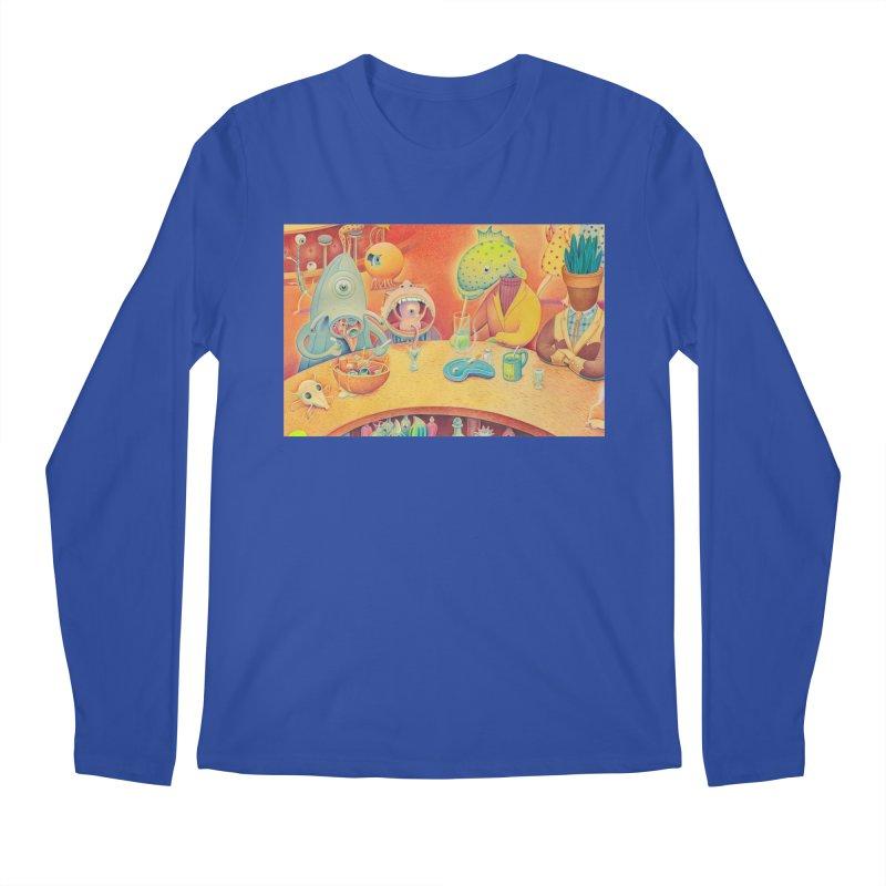 Barflies Men's Regular Longsleeve T-Shirt by Dave Calver's Shop