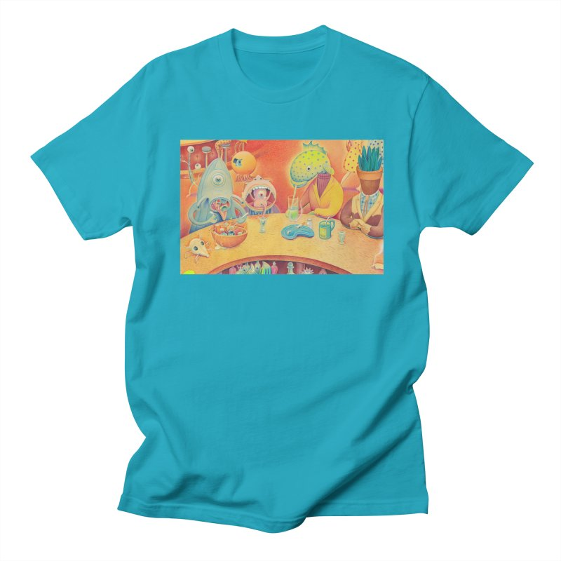 Barflies Men's Regular T-Shirt by Dave Calver's Shop