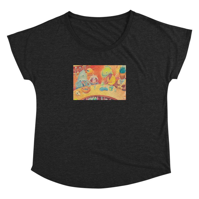 Barflies Women's Dolman Scoop Neck by Dave Calver's Shop