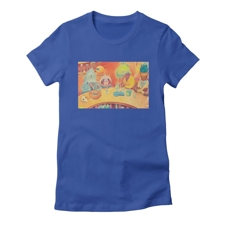 Barflies Women's Fitted T-Shirt by Dave Calver's Shop