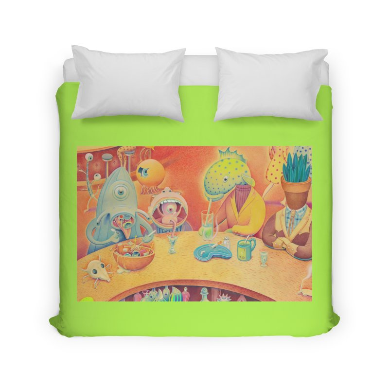 Barflies Home Duvet by Dave Calver's Shop
