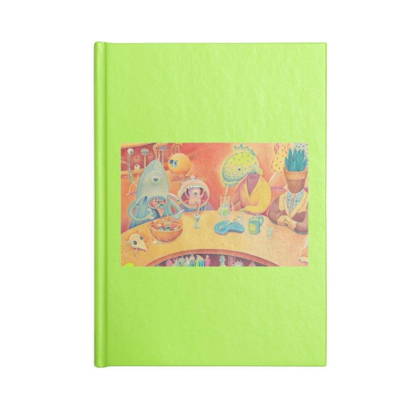 Barflies Accessories Lined Journal Notebook by Dave Calver's Shop