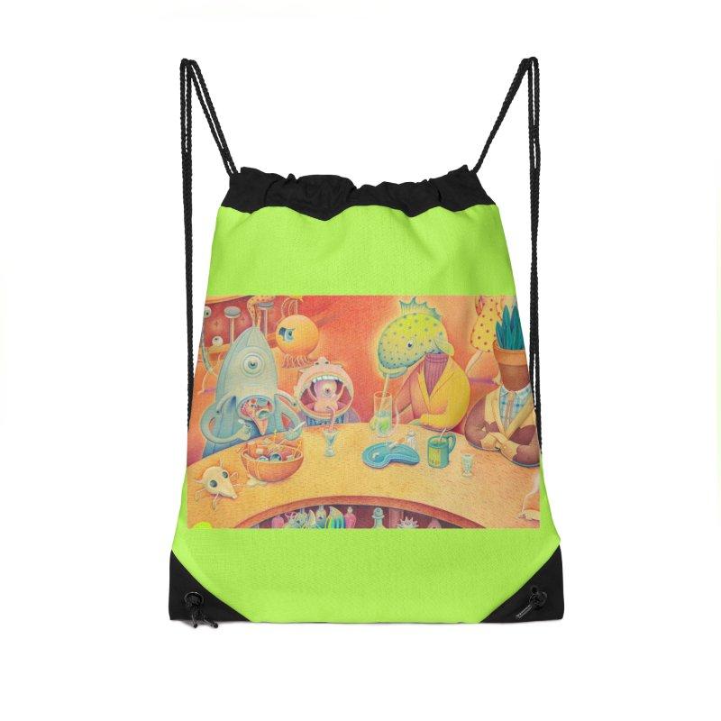Barflies Accessories Drawstring Bag Bag by Dave Calver's Shop