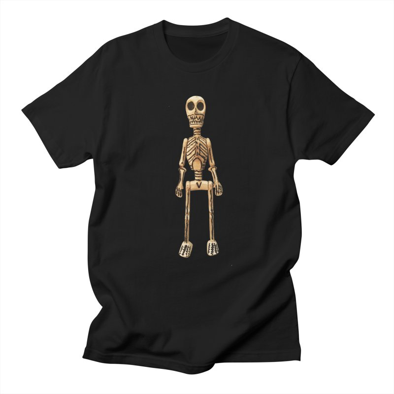 Skeleton Men's Regular T-Shirt by Dave Calver's Shop