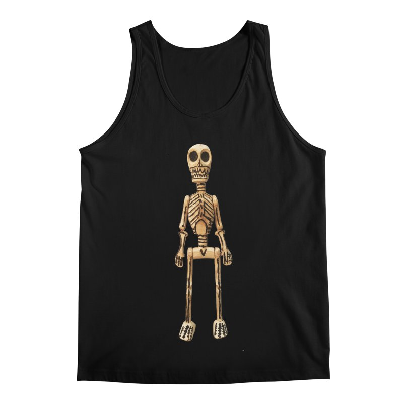 Skeleton Men's Regular Tank by Dave Calver's Shop