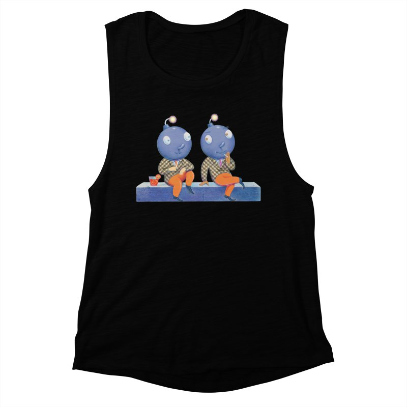 Enjoy It While You Can Women's Muscle Tank by Dave Calver's Shop