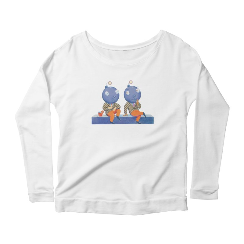 Enjoy It While You Can Women's Scoop Neck Longsleeve T-Shirt by Dave Calver's Shop