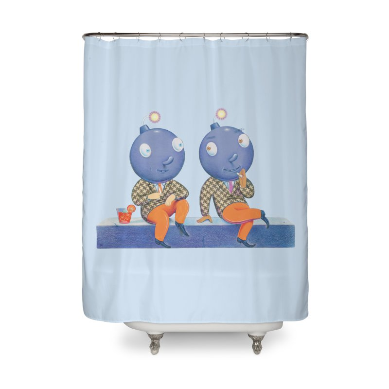 Enjoy It While You Can Home Shower Curtain by Dave Calver's Shop
